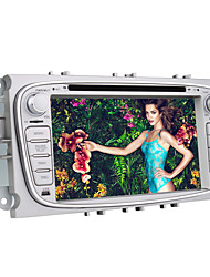 Lettore DVD dell'automobile da 7 pollici per ford focus mondeo s-max (dvb-t, gps, interfaccia utente 3D, bluetooth, pip)