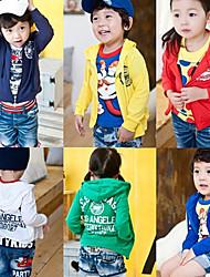 Baby Printing Zipper Long Sleeves Jacket