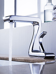 Sprinkle® by Lightinthebox - Solid Brass Bathroom Sink Faucet Chrome Finish