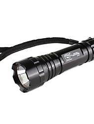 sorrindo tubarão ss-6007 1-mode lanterna LED (3xAAA)