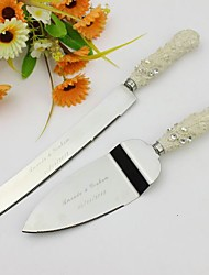 Serving Sets Wedding Cake Knife Personalized Elegant  Cake Serving Set In Resin Handle