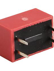 20 штук 2 позиции микропереключателя 2,54 мм Шаг 2 ряд 4-контактный DIP-переключатель для поделок