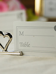 Place Cards and Holders Heart Shaped placecard holder (set of 4)