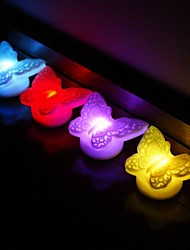 Wedding Décor LED Butterfly  Favors (Set of 4 in Assorted Colors)