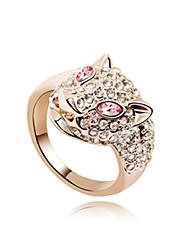 wunderschöne 18k vergoldet Crystal Fashion Ring (weitere Farben)