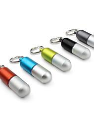 capsule mini-récipient en forme imperméable à l'eau (ramdon couleur)
