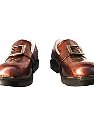Ciel chaussures cosplay plats à surface lisse
