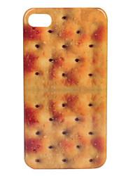 Småkage Mønster Mode Design Hard Cover Til iPhone 4 og 4S