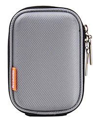 Portable Compact Camera Bag with Hang Pothook (Silver)