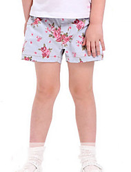 petites filles tissé short