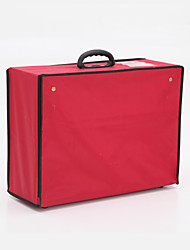 Faux Leather Two Way Zipper Garment Bag (More Colors)