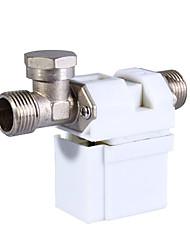 12v 0,5 pouces valve solénoïde pour l'eau gaz de l'air (blanc)