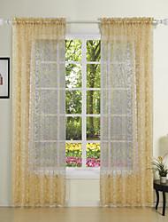 twopages® dois painéis elegante princesa fantasia cortinas diáfanas cortinas