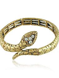 braclet europeu estilo mulheres de liga leve de serpentes em forma Popular