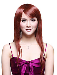 Capless Long 100% Human Hair Wavy Pop Hair Wig