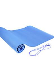 1.83m tpe mat 6 millimetri di lunghezza yoga