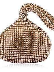 Women Acrylic Event/Party Evening Bag White / Gold / Black