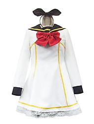 kagamine rin marinheiro traje cosplay vestido