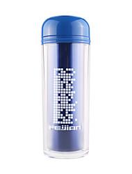 280ML Sports Vacuum Bottle/Vacuum Flask (Pink/Blue)