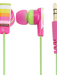 Kanen Color Stripe In-ear Magnetic Earphone for iPhone 6 iPhone 6 Plus