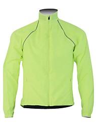 Hauts/Tops / Veste / Coupe-vent de Cyclisme/Vélo Homme Manches longues Jaune Respirable S / M / L / XL / XXL
