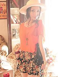 Summer Lady Elegant Chiffon T Shirt