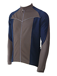 JAGGAD Poliestere 50% e 50% maniche lunghe Coolmax Cycling Jersey