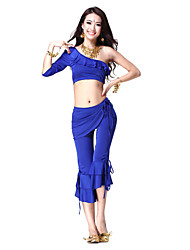 Fabulous Dancewear Viscose Belly Dance Outfit For Ladies More Colors