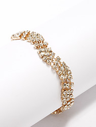 Gorgeous Four-level Rhinestone Bracelet