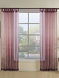 Pink Polka Dots Polyester Curtains Drapes