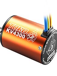 skyrc toro 4300kv/4p sensorless motor brushless para 1/10 de carro