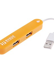 Hi-Speed 4-Port 480Mbps USB 2.0  Hub
