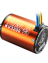 skyrc toro 3200kv/4p sensorless motor brushless para 1/10 de carro