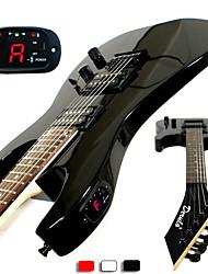 Derulo - (Thunder Blade) Stratocaster E-Gitarre mit Tasche / Gurt / Picks / Kabel / Whammy Bar / Batterie