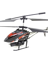 Wltoys 3.5CH RC Helicopter  with Gyroscope and Missiles