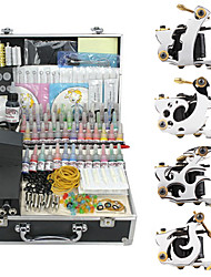 4 Alloy Tattoo Gun Kit for Lining and Shading