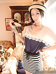 Summer Lady Elegant Loose T Shirt