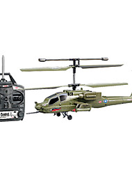 Syma S113G 3 Channel Simulation Apachi Helicopter with Radio Control (RC) Helicopters Toy