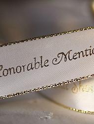 personalizado de ouro faixa fita decoração do casamento - 100 metros por rolo (mais cores, mais largura)