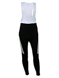Kooplus Quick Dry Men's Long Cycling BIB Pants (Ink Marks)
