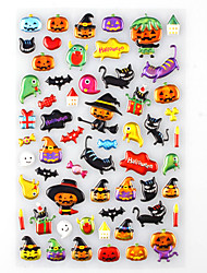 Halloween Favor Stickers – Monster