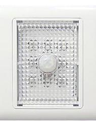 0.5W 8-LED Amarelo Luz PIR luz de canto Sensor (AC220V)