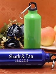 personalizado garrafa de 500ml de alumínio esporte liga (colores mais)