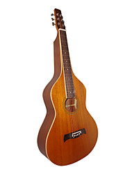 Aiersi - (09WBR) Plywood Mahogany Deeper Body Weissenborn Guitar/Acoustic Hawaiian Slide Guitar with Gig Bag(Satin)