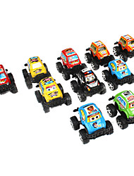 SUV Cars Pull Back and Go Toys for Kids (10-Pack)