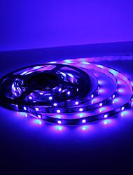 5M 5W 300x3528 SMD Blue Light Flexible LED Strip Lamp (DC 12V)