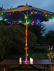 Solar 60-LED colorati Luce Luci esterne Fata Lampade Decorazione di Natale