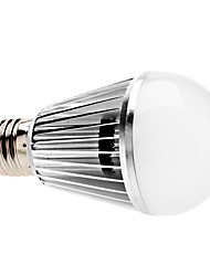 E26/E27 5 W 5 COB 500 LM Warm White A Dimmable Globe Bulbs AC 220-240 V