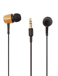 la mode de haute qualité en bois écouteurs intra-auriculaires
