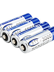 1.2V 3000mAh NH-AA Rechargeable Battery (Blue)